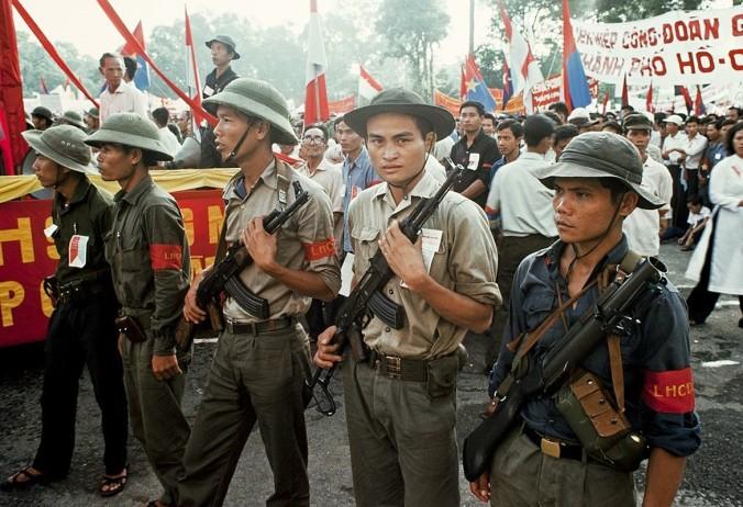 Lễ mừng chiến thắng ở Sài Gòn, tháng Năm 1975