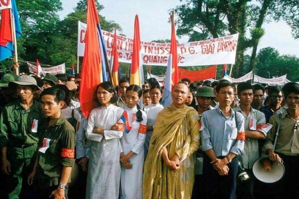 Mừng chiến thắng ở Sài Gòn, 1975