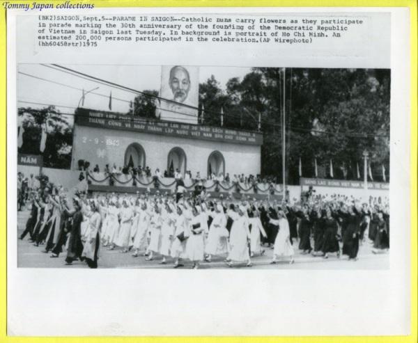 Sài Gòn, 5 tháng Chín 1975, Chào mừng 30 năm ngày thành lập nước Việt Nam Dân chủ Cộng hòa.