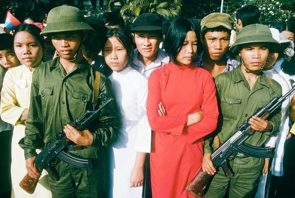 Mừng chiến thắng ở Sài Gòn, tháng Năm 1975