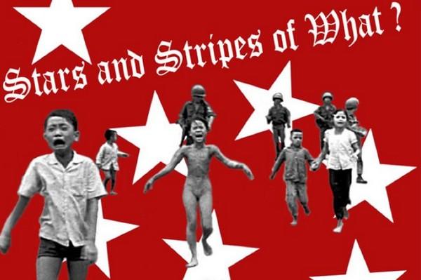 Bức ảnh được luôn được biến thể và biến đổi như trên tấm áp phích tranh cử tổng thống Mỹ này của năm 1972. Hình: NXB Wallstein.