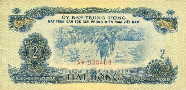 Tờ tiền 2 đồng của MTGP