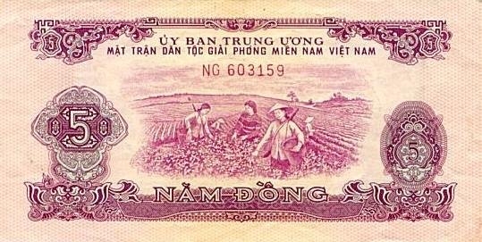 Tờ 5 đồng của MTGP