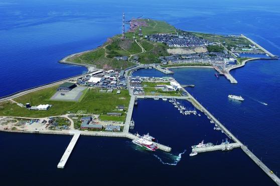 Helgoland, đảo xa bờ duy nhất của nước Đức