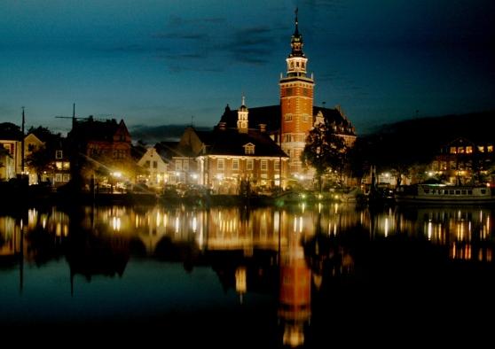 Tòa đô chính lịch sử của Leer. Hình: Wikipedia
