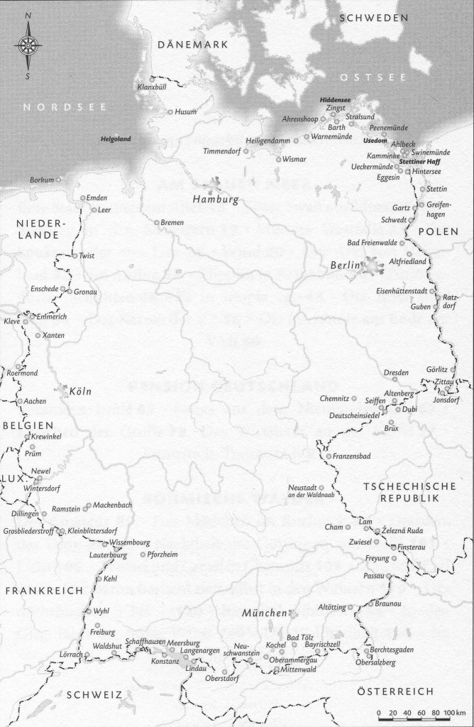 Nước Đức, một chuyến đi