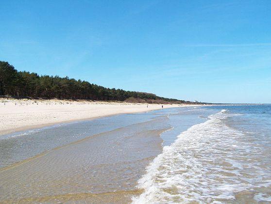 Bãi biển Usedom. Hình Wikipedia