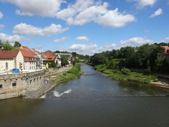 Sông Neiße đoạn phía Bắc. Hình: Wikipedia