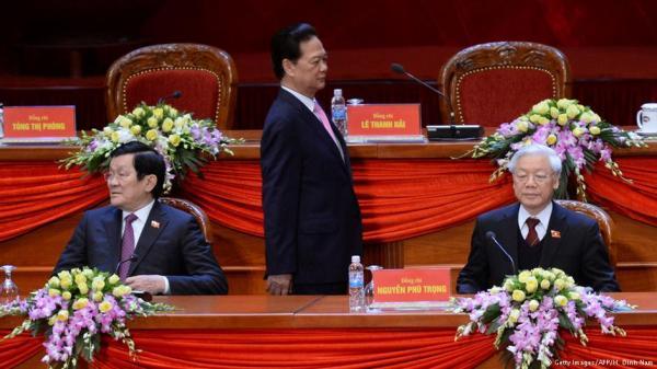 Nguyễn Tấn Dũng và đối thủ của ông, Nguyễn Phú Trọng