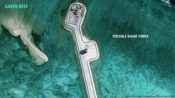 Đảo nhân tạo trên đá Ga Ven (Gaven Reefs)