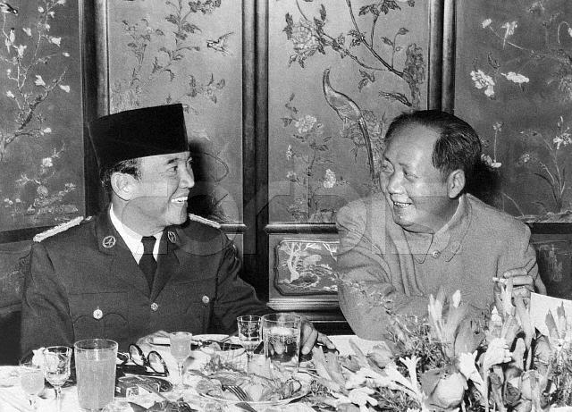 Sukarno và Mao Trạch Đông