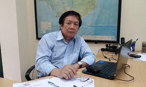 TS Đào Trọng Tứ, chuyên gia Mạng lưới sông ngòi Việt Nam.