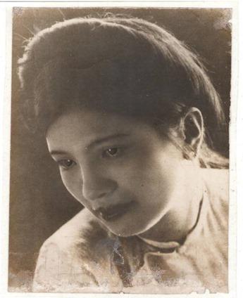 Bà Nguyễn Thị Phương - mẹ của tác giả