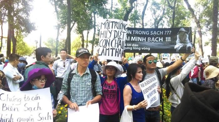 Biểu tình tại Sài Gòn ngày 8 tháng 5 năm 2016