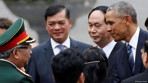 Obama thăm Việt Nam 2006