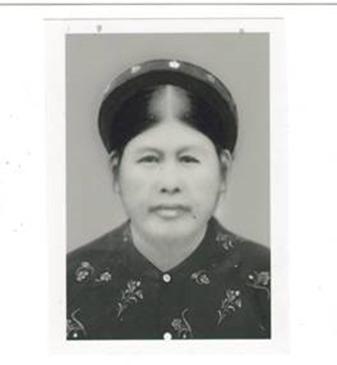 Bà Ba (tên thật là Trần Thị Nghi) quê Chí Chủ Phú Thọ