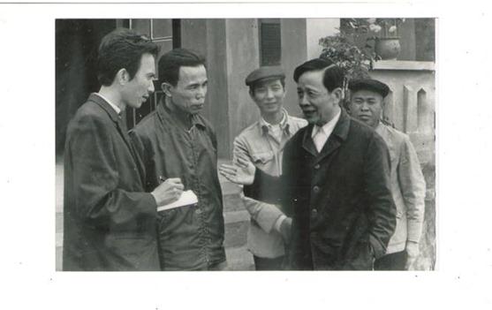 Phỏng vấn ông Nguyễn Hữu Khiếu, ủy viên TW Đảng tại HTX Định Công Thanh Hóa 1978. Ông Khiếu là cha của Nguyễn Hữu Vinh, tức anh Ba Sàm chủ nhân của trang web anhbasam.