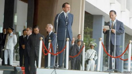 Tổng Thống Nixon thăm Sài Gòn năm 1969