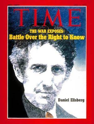 Daniel Ellsberg trên tờ bìa báo Time
