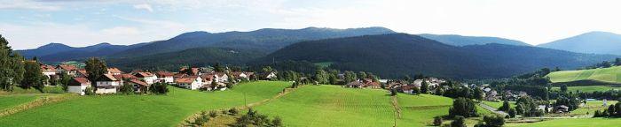 Ngôi làng tên Lam trong vùng Bayern