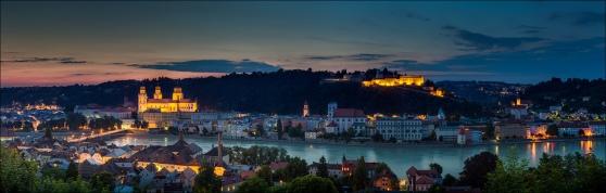 Passau, Nhà thờ Thánh Stefan và khu phố cổ