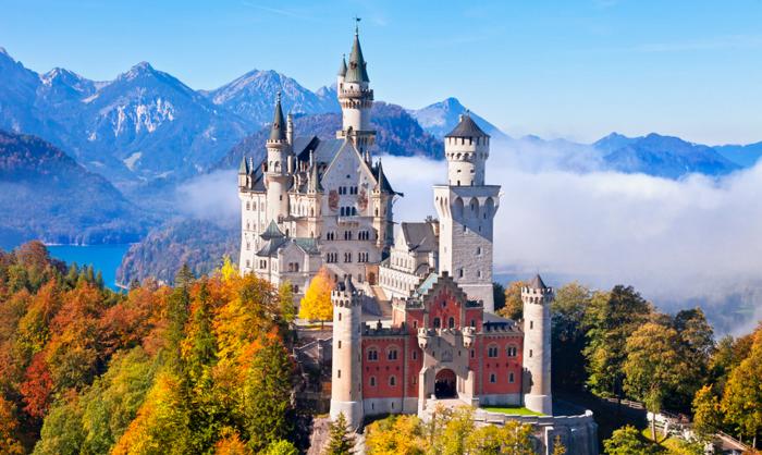 Lâu đài Neuschwanstein