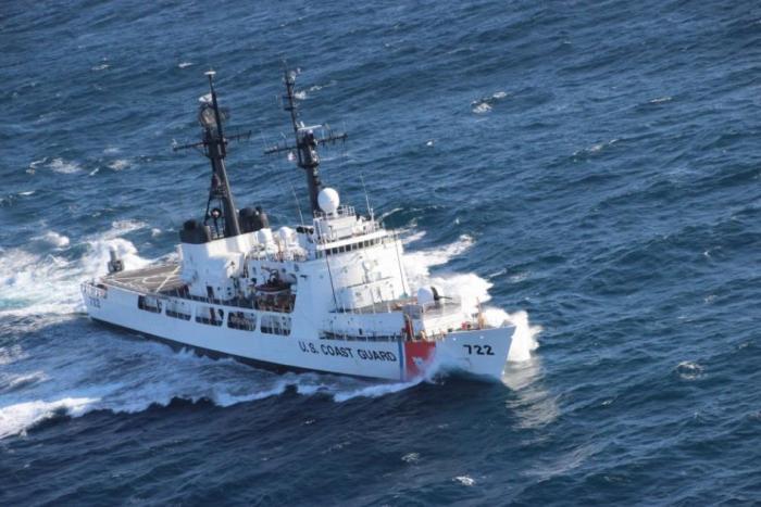 Tàu tuần duyên USCGC Morgenthau (WHEC 722) mới nghỉ hưu và được chuyển giao cho Việt Nam.(Hình: US Coastguard)
