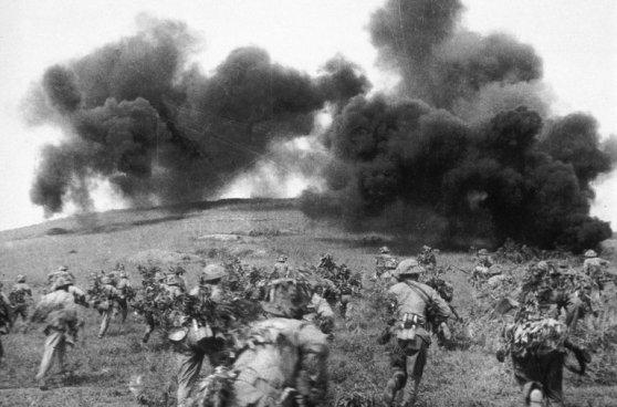 Quân đội Việt Minh tại trận Điện Biên Phủ. Collection Jean-Claude Labbe/Gamma-Rapho, via Getty Images