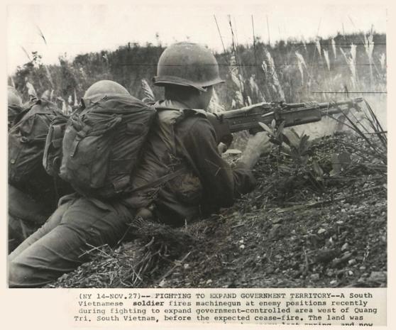 Lính VNCH chiến đấu ở Quảng Trị 1972