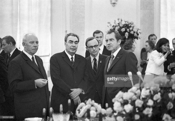 Nixon trong chuyến đi thăm Liên bang Xô Viết năm 1972