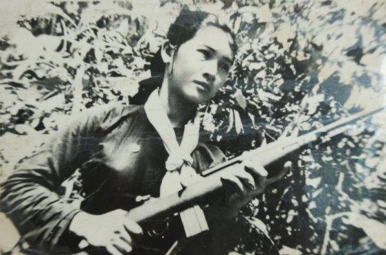 Vo Thi Mo đã chỉ huy ba tiểu đội chống lại một tiểu đoàn của Sư Đoàn 25