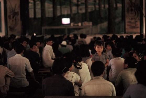 Hội trường chính ở Trại cải tạo Thủ Đức ngày nghỉ cuối tuần, năm 1988. Ảnh: Kienthuc.net.vn.