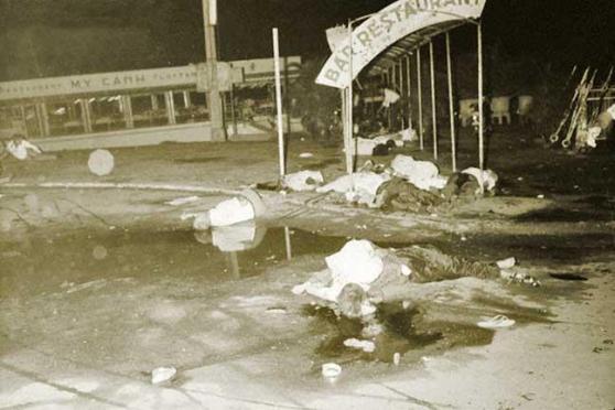 Nạn nhân vụ đánh bom Nhà hàng Mỹ Cảnh