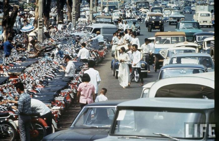 Saigon 1968 - đường Lê Lợi