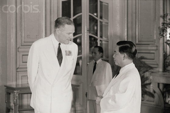 Henry Cabot Lodge Meeting Ngo Dinh Diem