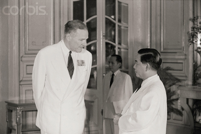 Henry Cabot Lodge Meeting Ngo Dinh Diem
