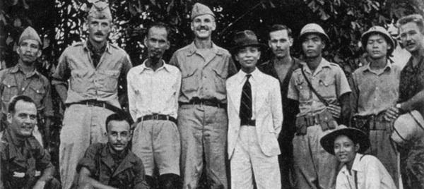 Hồ Chí Minh và nhóm OSS của Mỹ