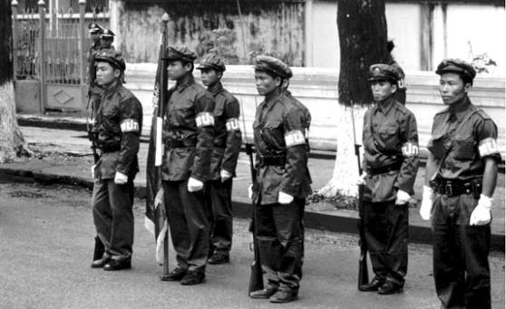 Lính Pathet Lào năm 1974