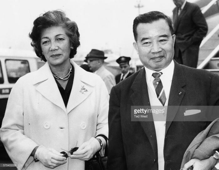 Hoàng tử Souvanna Phouma và phu nhân