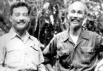 Hồ Chí Minh và Hoàng tử Souphanouvong