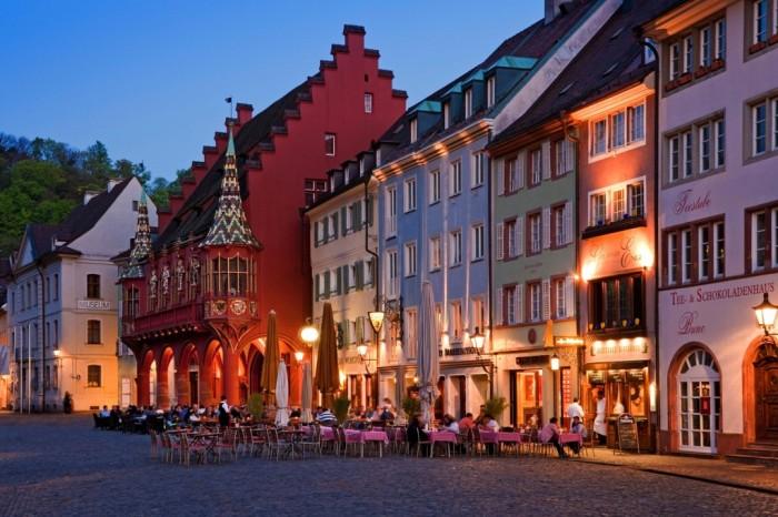 Khu phố cổ Freiburg