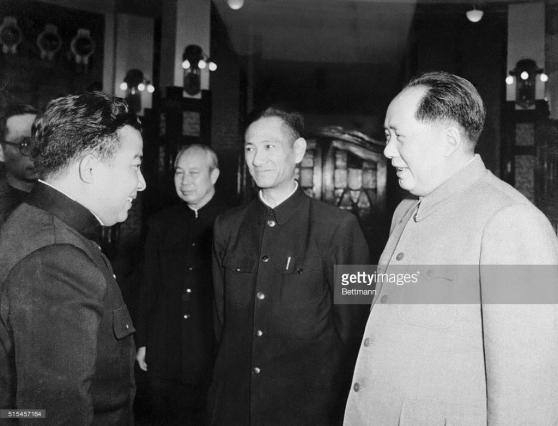 Mao Trạch Đông và Norodom Sihanouk