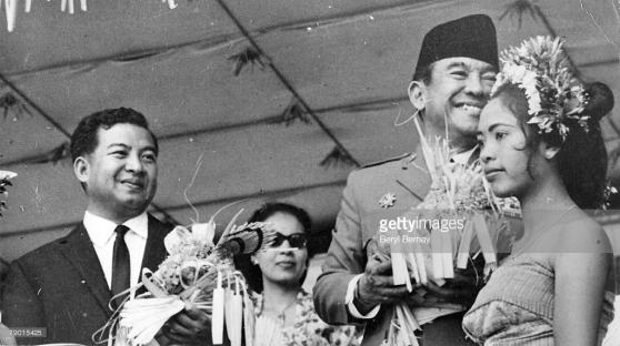 Hoàng tử Sihanouk và Tổng thống Indonesia Sukarno (1901 - 1970)