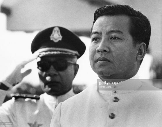 Norodom Sihanouk, khoảng năm 1960