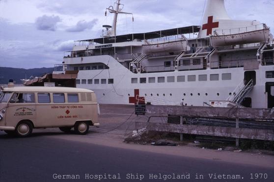 Tàu bệnh viện Helgoland ở Việt Nam, 1970