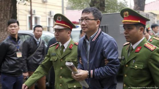 Trịnh Xuân Thanh ra tòa