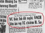 Việt Cộng bác bỏ đề nghị của VNCH lên án vụ TC chiếm Hoàng Sa