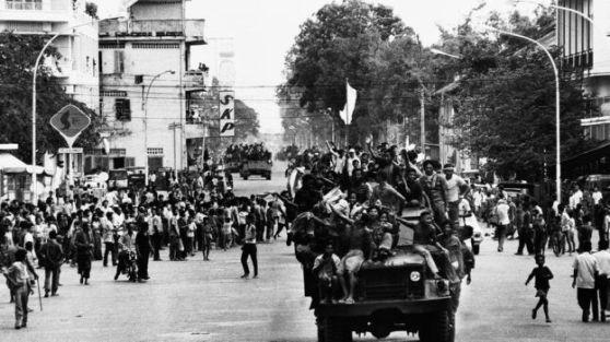 Khmer Đỏ tiến vào Phnom Penh ngày 17/4/1975