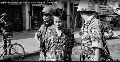 7 thành viên gia đình ông Nguyễn Từ Huấn thuộc trong số những nạn nhân bị chiến sỹ biệt động Bảy Lốp của quân đội Bắc Việt thảm sát trong biến cố Mậu Thân tại Sài Gòn năm 1968. AP