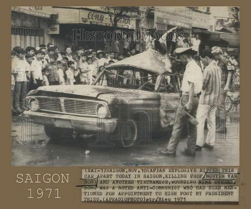 Nguyễn văn Bông bị ám sát